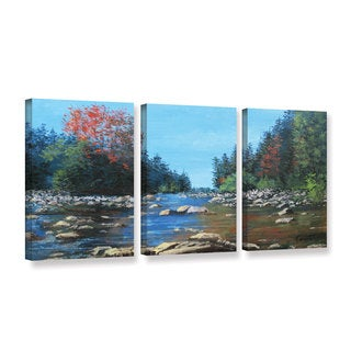 ArtWall 'Gene Foust's Vices' 3-piece Gallery Wrapped Canvas Set