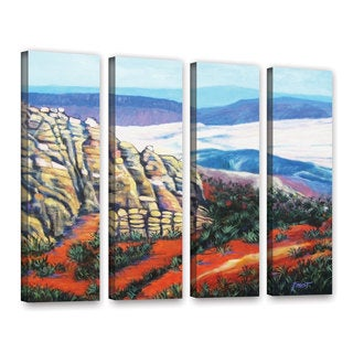 ArtWall 'Gene Foust's Rocky Mountain Living' 4-piece Gallery Wrapped Canvas Set