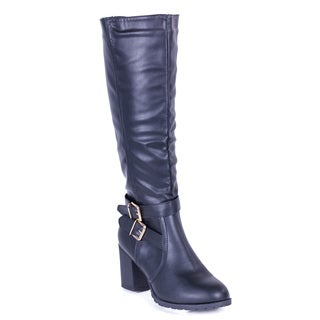 Women's Double Buckle Tall Boots