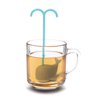 Modern Home Diving Whale Loose Tea Infuser. Opens flyout.