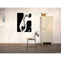 Wine is being poured into glass Wall Art Sticker Decal