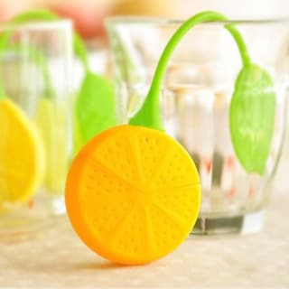 Citrus Lemon Silicone Loose Tea Infuser