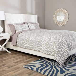 Andrew Charles Snow Leopard Collection Animal Print Comforter Set (3 options available)