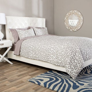 Andrew Charles Snow Leopard Collection Animal Print Comforter Set