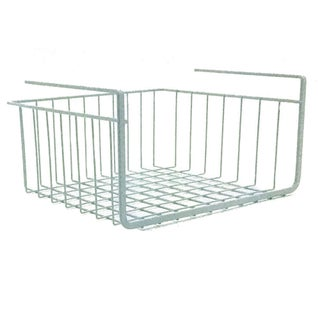 Modern Home 10-inch Cabinet Wire Hanging Basket Shelf