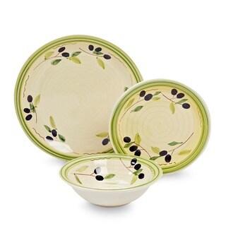 Gibson Olive Vista 12-piece Dinnerware