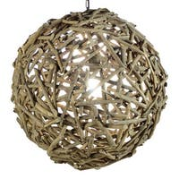 Modern Home Nautical Driftwood Ceiling Pendant Light