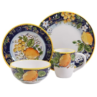 Gibson Elite Vienna Piazza 4-piece Dinnerware Set