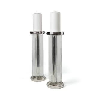 Short Missile Candleholders