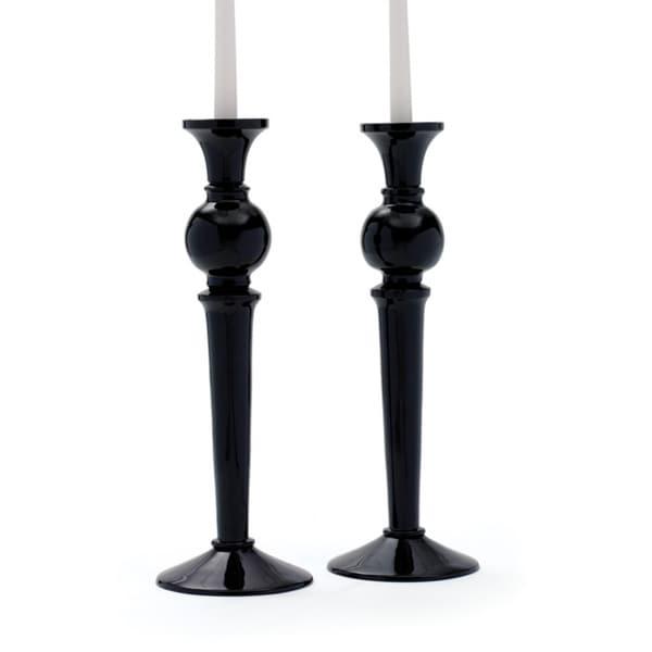 Pair of Black Candlesticks
