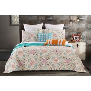 greenland home fashions morocco gem 3piece quilt set - Greenland Home Fashions
