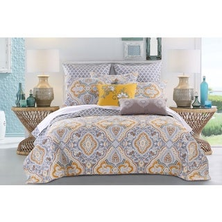 Valhalla Gold 3-piece Quilt Set