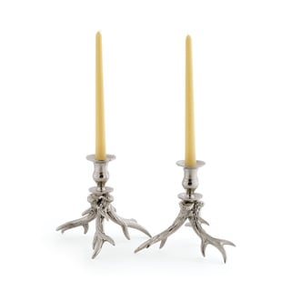 Hip Vintage Western Candleholders (Set of 2)