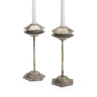 Hip Vintage Tanger Candlesticks (Set of 2)