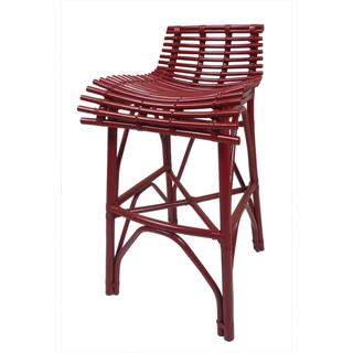 Crafted Home Harper Barstool in Red