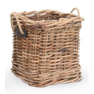 Crafted Home's Woodrow Small Square Basket