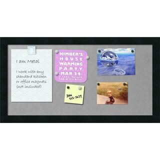 'Mezzanotte Magnetic Board 12x24' Magnetic Board 26 x 14-inch