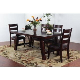 Sunny Deigns Vineyard Dining Table with Turn Buckle