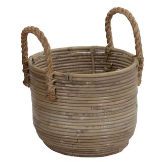 Crafted Home's Jax Basket Storage Small (As Is Item)