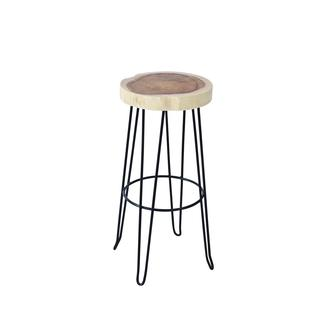 Crafted Home Aiden Barstool in Iron Legs
