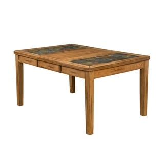 Sunny Deigns Sedona Extension Table with Slate Top