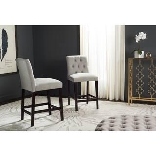 Safavieh Nrah Light Grey Counterstool (Set of 2)|https://ak1.ostkcdn.com/images/products/11391093/P18358333.jpg?impolicy=medium