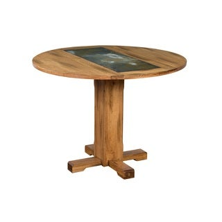 Sunny Designs Sedona Drop Leaf Table with Slate