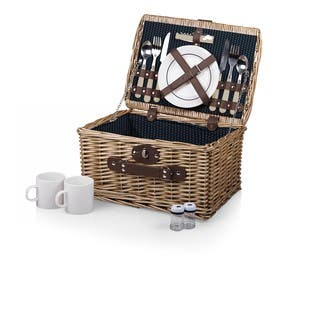 Picnic Time Catalina Dahlia Picnic Basket|https://ak1.ostkcdn.com/images/products/11391125/P18358368.jpg?impolicy=medium