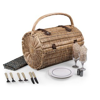 Picnic Time Barrel Dahlia Picnic Basket