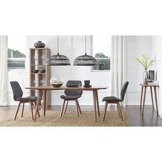Euro Style 5-piece Beckett Scandinavian Style Dining Set