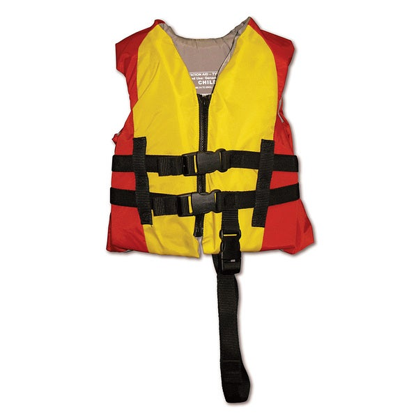 Poolmaster Coast Guard Swim Vest Child - Red