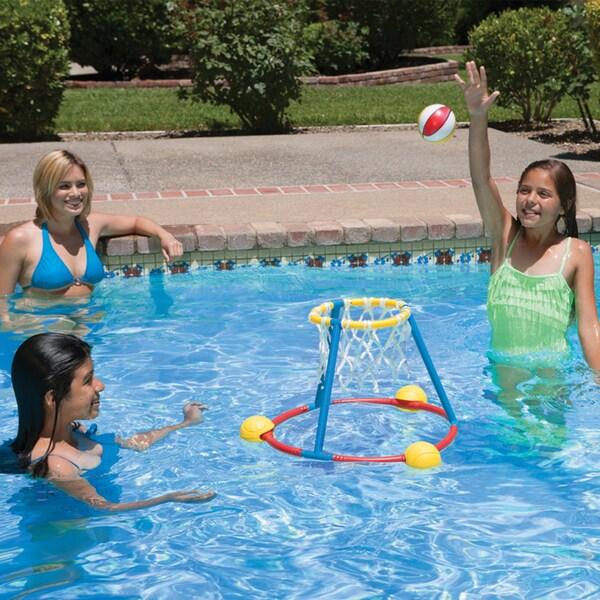 Poolmaster Hot Hoops Basketball Games 2 pack