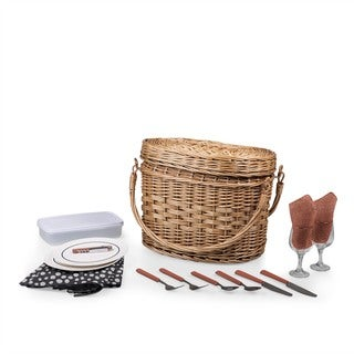 Picnic Time Adeline Romance Basket