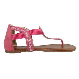 Olivia Miller 'Vicenza' Multi Stone Sandals