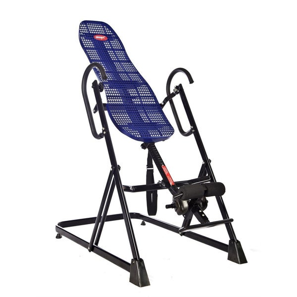 Emer Deluxe Gravity Inversion Therapy Table,Heavy Duty, Lumbar Support ABS Backrest for Fitness and Exercise