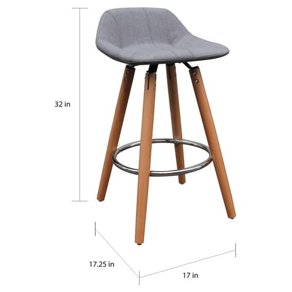 Brilliant Shop Camaro 26 Inch Counter Stool Set Of 2 Free Shipping Bralicious Painted Fabric Chair Ideas Braliciousco