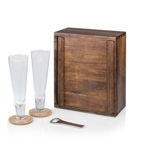 Picnic Time Pilsner Beer Gift Set for 2