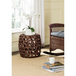 Safavieh Amica Brown Stool