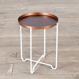 Copper Small Tray Table