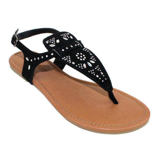 new styles f8d1d fa122 Shop Olivia Miller 'Catania' Sandals - Free Shipping On ...