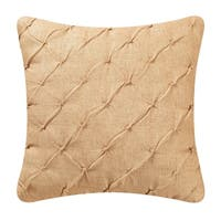 Camel Diamond Tuck 17-inch Throw Pillows (Set of 2)