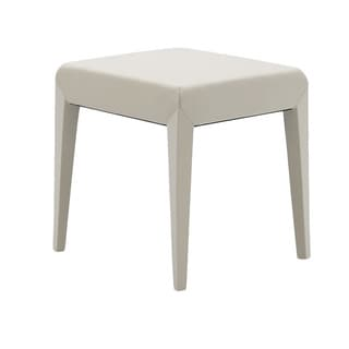 Modena Leather Vanity Chair Stool