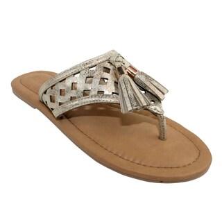 Olivia Miller 'Bavagna' Tassel Sandals