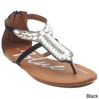 Blue Women's Critty-6 Sandals