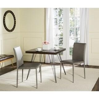 Safavieh Mid-Century Dining Karna Antique Grey Dining Chairs (Set of 2)