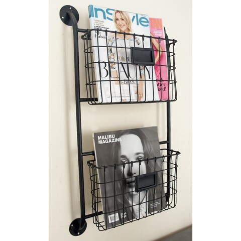 Metal Wall Storage Rack