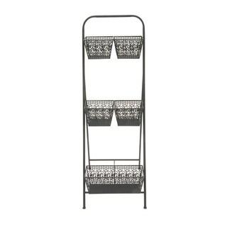 Metal 3 Tier Rack 17-inch x 50-inch Storage Piece