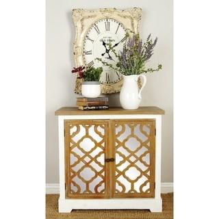 Wood Mirror Cabinet 32-inch x 30-inch Storage Piece