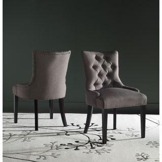 Safavieh En Vogue Dining Gamada Brown Side Chairs (Set of 2)