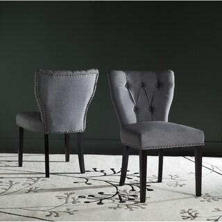 Safavieh En Vogue Dining Kendi Dark Blue Side Chairs (Set of 2)